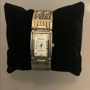Geneva Bracelet Quartz Watch.